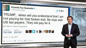n-tv Netzreporter: Mexikos Ex-Präsident Vicente Fox empört sich über Trumps Mauerpläne