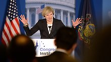 May bei ihrer Rede vor republikanischen US-Abgeordneten