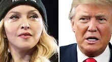 """""""Ehrlich, sie ist ekelhaft!"""": Donald Trump macht Madonna nieder"""