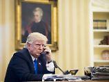 Donald Trump sorgt auch für Wirbel in Großbritannien.