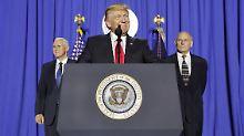 Viele US-Firmen sind von Donald Trumps Einreisestopp betroffen. Nun regt sich Widerstand.