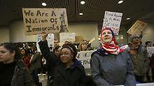 US-Einreiseverbot: Trump schimpft über Delta