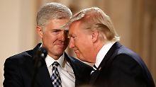 Trumps Favorit für den Supreme Court: Wer ist Neil Gorsuch?