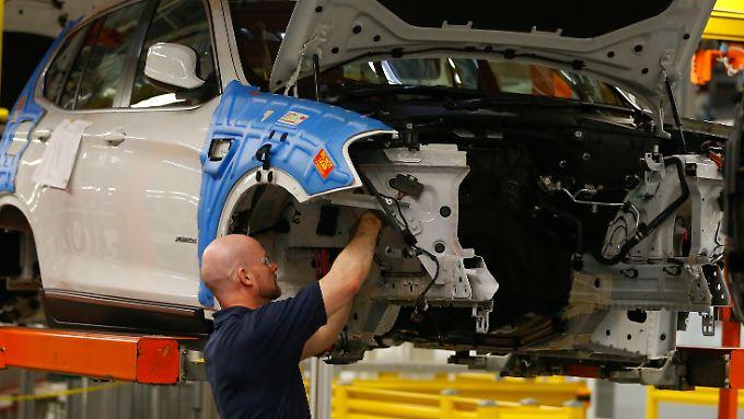 Starkes Standbein im US-Markt: Am BMW-Werk in Spartanburg hängen US-Arbeitsplätze.
