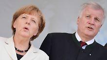 Waffenstillstand: Der Unionsstreit über eine Obergrenze soll vorerst ruhen - man will geschlossen in den Wahlkampf ziehen.