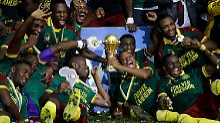 Kamerun gewann den Pokal zum fünften Mal.