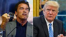 """""""Wir zerschmettern sein Gesicht"""": Schwarzenegger wollte Trump schlagen"""