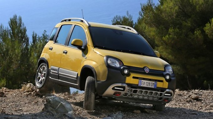 """Den Fiat Panda gibt es auch als geländegängigen """"Cross""""."""