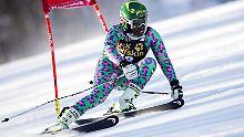 Die 18-Jährige Sabrina Simader ist bei der Ski-WM eine gefragte Interview-Partnerin.