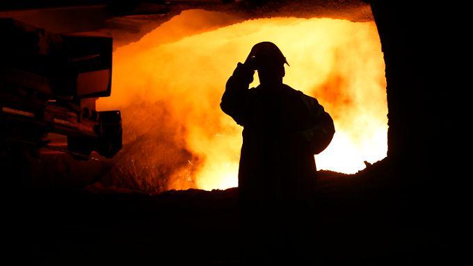 In der europäischen Stahlsparte und im Anlagenbau hat Thyssenkrupp Einbußen.
