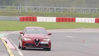 Drift-Date mit einer Italienerin: Alfa Romeo Giulia will gebändigt werden