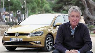 Probefahrt nach dem Update: VW modernisiert den Golf 7