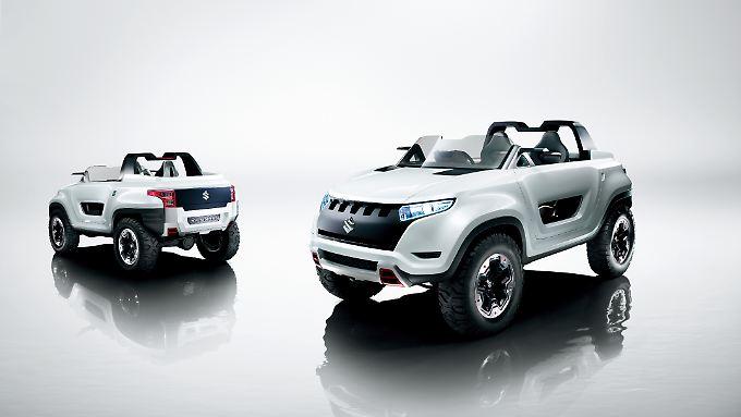 Bereits 2013 hat Suzuki mit der Studie X-Lander einen Ausblick auf den kommenden Jimmy gegeben.