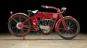 Auch der Umstand, dass die Harley X8E BigTwin einst Steve McQueen gehörte, brachte dem Verkäufer kein Glück.
