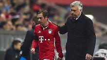 Philipp Lahm und sein Trainer Carlo Ancelotti - zu beiden hat Blogger Jan Placht Interessantes zu erzählen.