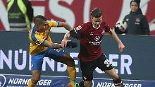 Sieglos-Serie hält an: Braunschweig verpasst Anschluss an Spitze