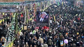 Antonia Rados in Teheran: Iraner lassen sich von Trump nicht einschüchtern
