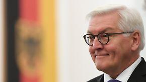 Mann des Dialogs: Chef-Diplomat Steinmeier will ins Schloss Bellevue