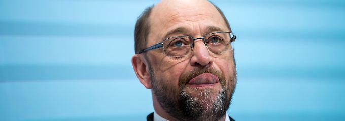 Kanzlerkandidat Martin Schulz