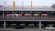 Einsatz am Hamburger Flughafen: Feuerwehr findet Reizgas-Kartusche