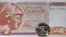 Drachmen-Debatte in Griechenland: Notenbankchef holt Nordkorea-Keule raus