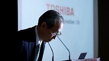 Konzern blickt in den Abgrund: Chaostag bei Toshiba