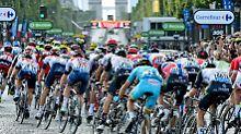 Die Tour de France ist der jährliche Höhepunkt der Radsportler. Der heutige US-Präsident wollte sich daran ein Beispiel nehmen.