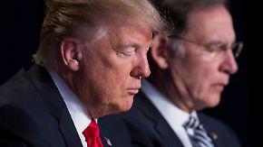 Flynn-Affäre und Russland-Konflikt: Für Trump läuft es nicht rund