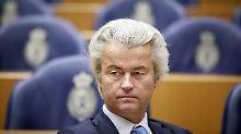 """Wilders in Umfragen weiter vorn: """"Es ist echter Islamhass entstanden"""""""