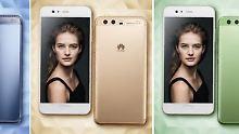 Huawei treibt's bunt: P10 trägt Gold, Grün und Blau