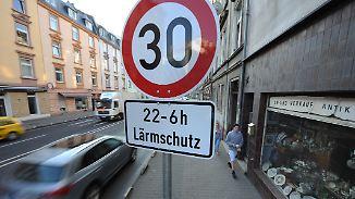 Tempo 30 in der Stadt: Geschwindigkeitsbegrenzungen sind auf dem Vormarsch