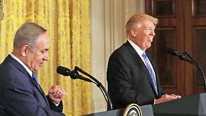 Druck auf Israel, Russland, Nato: Trump rüttelt an der Weltpolitik