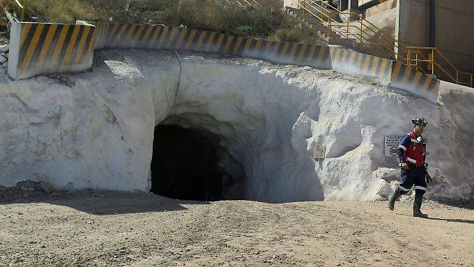 Die Silbermine La Parrilla in San Jose de La Parrilla.