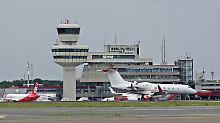 Mehr als 200 Flüge fallen aus: Streiks legen Berliner Flugverkehr lahm