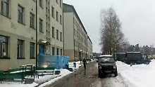 Der Stützpunkt der Bundeswehr in Rukla: Unweit von hier soll die Vergewaltigung passiert sein.