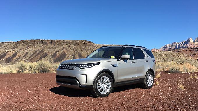Neue Form, neue Fähigkeiten für den Land Rover Discovery.