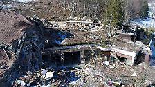 Todesfalle Rigopiano: Drohnenbilder zeigen, was vom Hotel übrig blieb