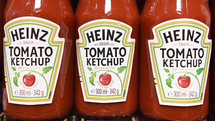 Heinz ist für seinen Ketchup berühmt.