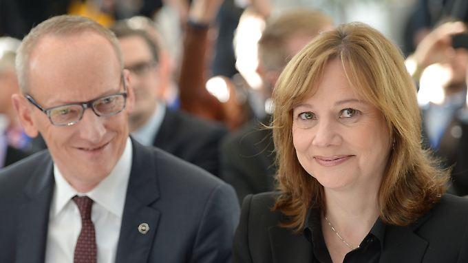 Abschied: GM-Chefin Mary Barra will ihr Europa-Geschäft samt Karl-Thomas Neumann und Opel loswerden.