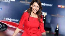 Schöner, aber hinderlicher Bauch: Annett Möller wird Mutter