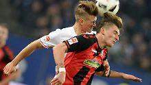 Elfmeterstreit kurz vor Schluss: HSV verschenkt den Sieg gegen Freiburg