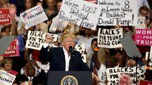 """Reibungslos, so reibungslos"": Trump sieht überhaupt keine Probleme"