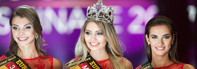 """""""Miss German""""» ist laut Veranstalter der älteste und bedeutendste Schönheitswettbewerb in Deutschland. Den Titel hält die frisch-gekrönte Soraya nun für ein Jahr."""