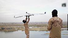 """""""Luftwaffe"""" der Terroristen: IS macht Drohnen zu Waffen"""