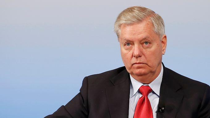 Der republikanische US-Senator Lindsey Graham ist einer der schärfsten Kritiker des US-Präsidenten.