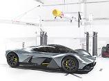 Kein Geringerer als Red-Bull-Chefdesigner Adrian Newey soll am Bau des AM-RB 001 beteiligt sein.