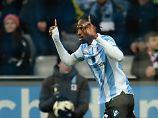 Abdoulaye Ba erzielte das 1:0 für 1860 München.