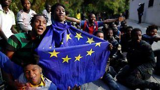 Politisches Machtspiel?: Erneut stürmen Hunderte Migranten spanische Exklave