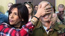 Verletzten in Hebron erschossen: Umstrittener Soldat muss ins Gefängnis