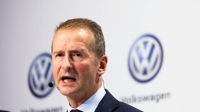 VW Markenchef Diess gilt als Hardliner. Ob die aktuelle Einigung von Dauer ist, bleibt fraglich.